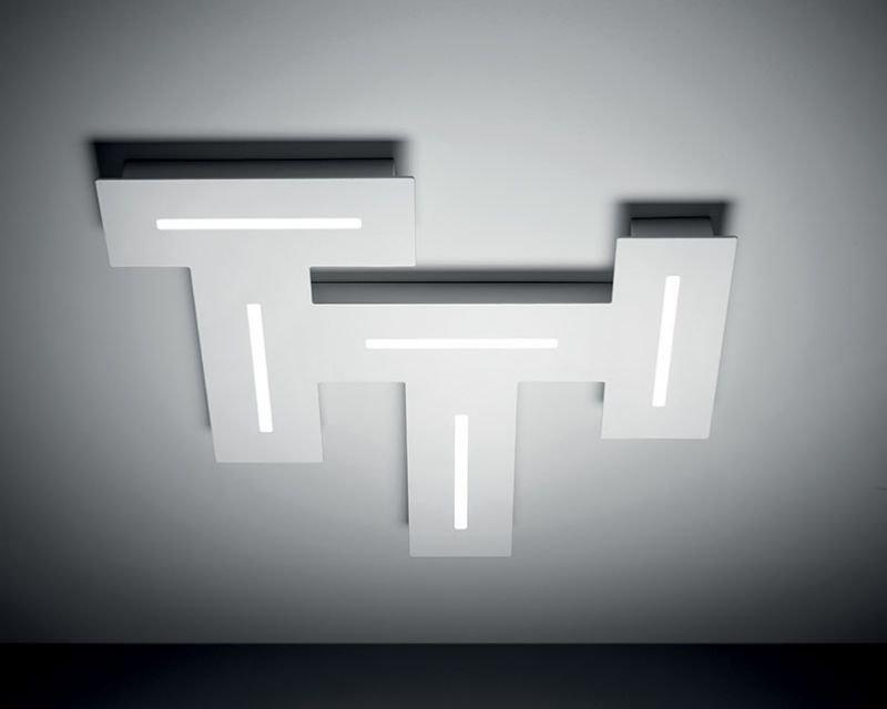 Maze vivida international plafoniera led bianca lightinspiration.it