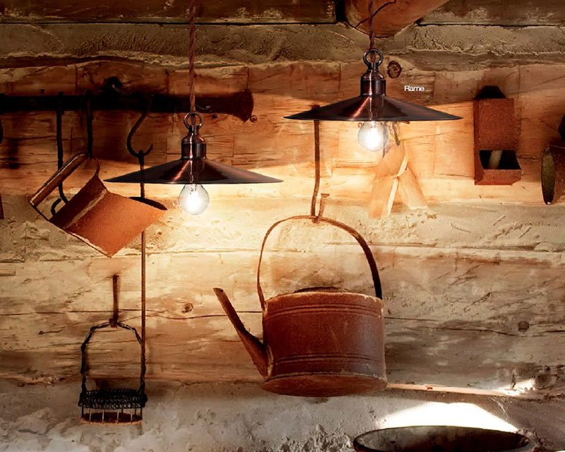Lampadario Rustico Sospensione : Cantina small lampadario rustico ideal lux lightinspiration