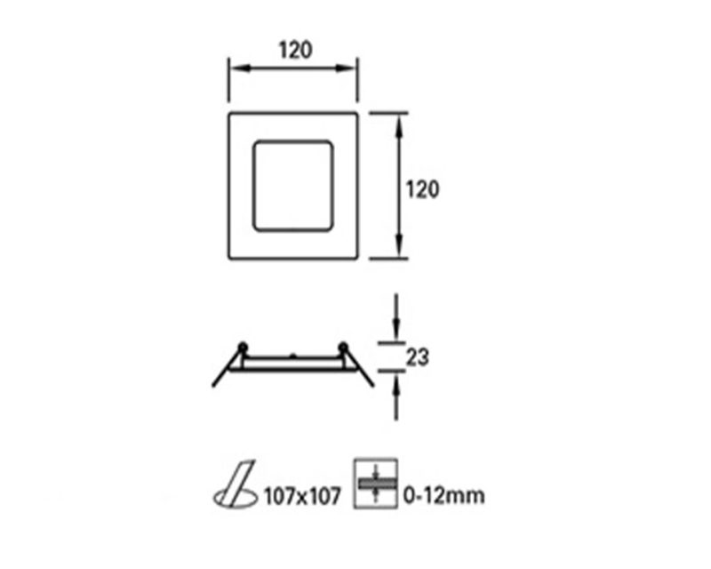 easy-faretto-led-rettangolare-tecnica