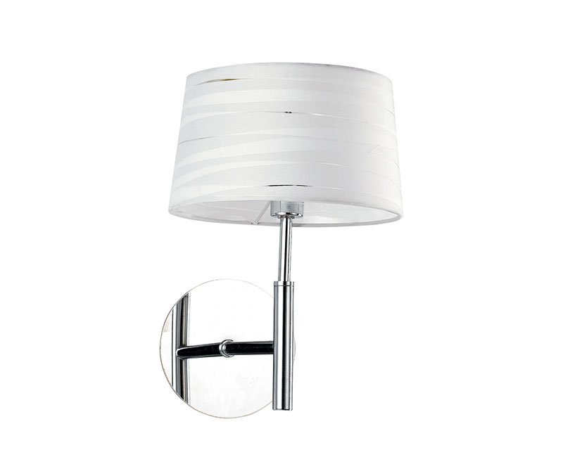 Isa ideal lux applique con paralume in tessuto lightinspiration.it