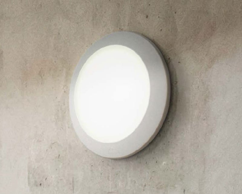 Plafoniera Per Esterno A Led : Berta applique plafoniera led per esterni ideal lux
