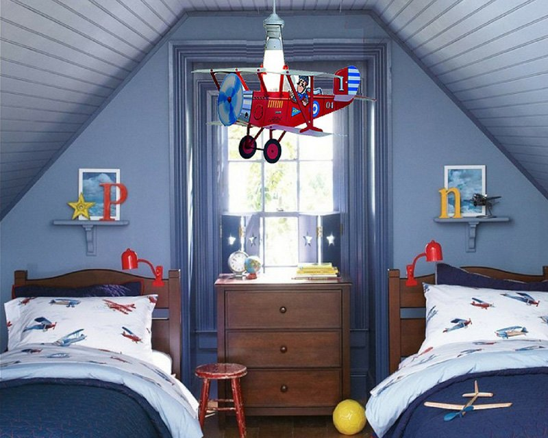 Plafoniere Cameretta Bimbi : Biplano kids linea zero lampadario bimbi lightinspiration